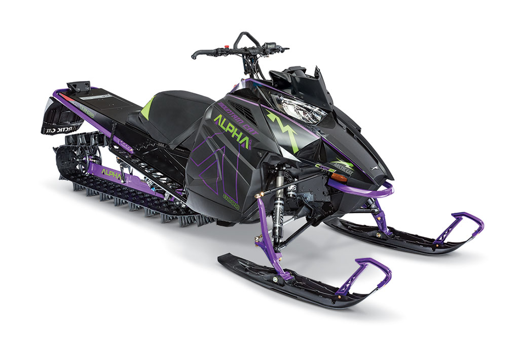 Снегоход горный ARCTIC CAT M 8000 165` HardCore Alpha One